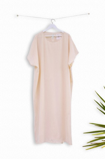 Blush Sile Caftan Dress