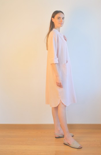 Blush Sile Tunic Dress