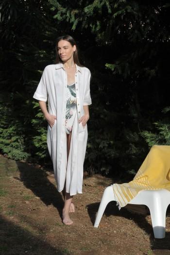 Off-White SILE SHIRT DRESS