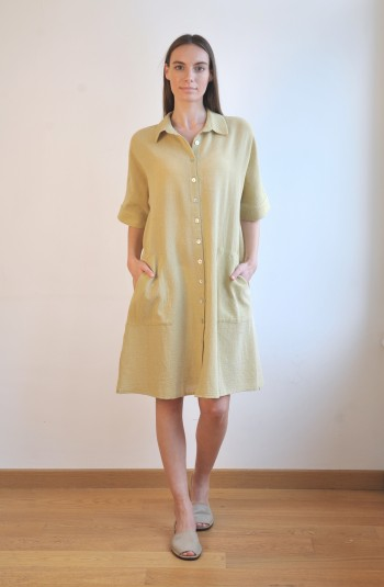 Olive SILE MINI SHIRT DRESS