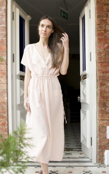 Blush SILE COLUMN DRESS