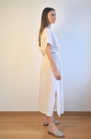 Off-White SILE COLUMN DRESS