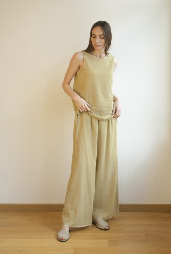Olive SILE LOOSE PANTS