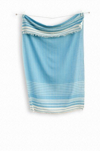 Turquoise Helen Turkish Towel