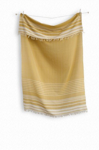 Mustard Helen Turkish Towel