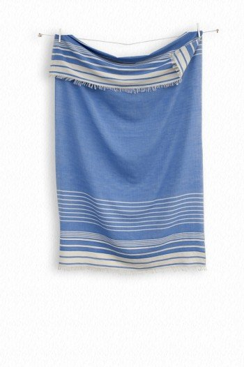 Navy Helen Turkish Towel