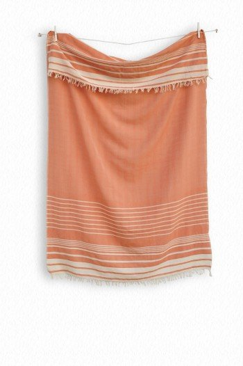 Peach Helen Turkish Towel
