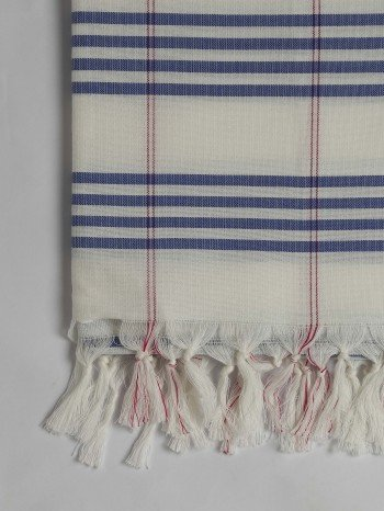 Marine Organic Cotton Turkish Towel Long