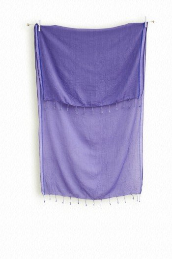 Purple Ayvalik Scarf