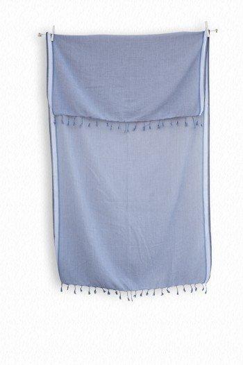 Blue Ayvalik Scarf