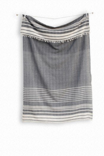 Black Helen Turkish Towel