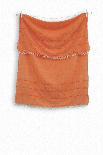 Orange Helen Scarf