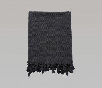 Pamukkale Hand Towel - Dark Grey