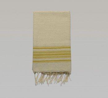 Foca Turkish Towel - Yellow Stripes