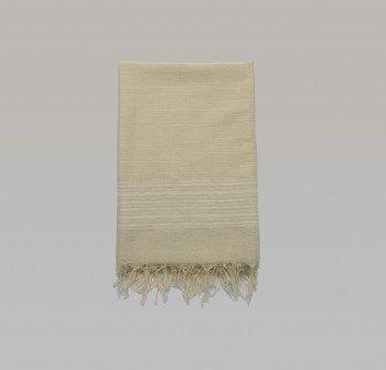 Foca Turkish Towel - Ecru Stripes