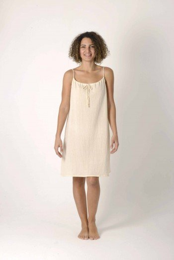 Natural Sile Slip Dress