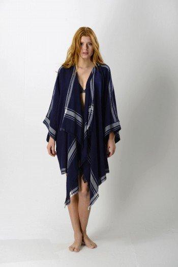 Dark Navy Cunda Kimono