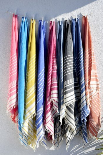 Blue Helen Turkish Towel