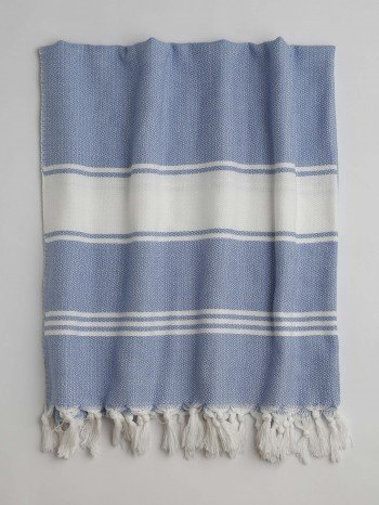 Blue-White Assos Turkish Towel