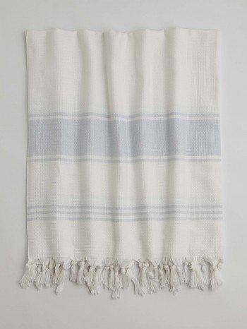 White-Light Blue Assos Turkish Towel