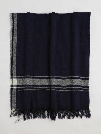 Dark Navy Cunda Turkish Towel