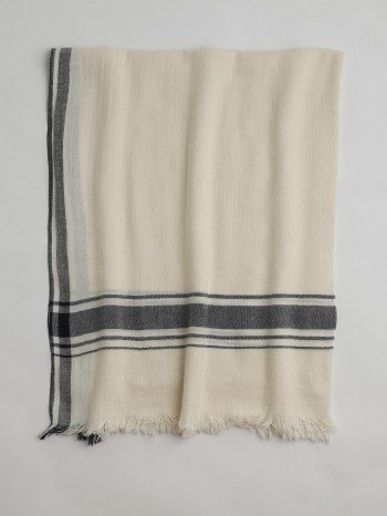 Ecru Cunda Turkish Towel