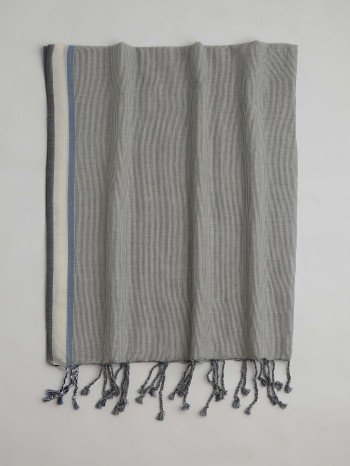 Blue Ayvalik Turkish Towel