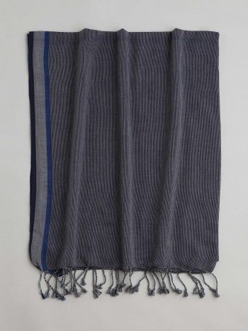 Navy Ayvalik Turkish Towel