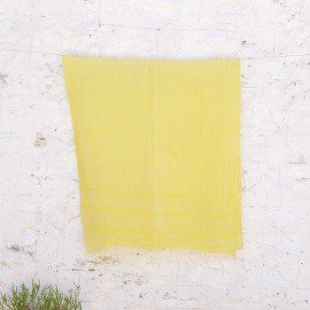 Yellow Helen Gauze Scarf
