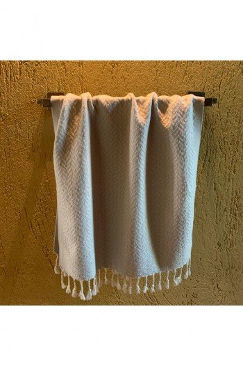 Light Grey Deniz Hand Towel/Tea Towel