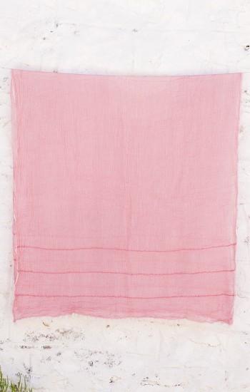 Pink Helen Gauze Scarf