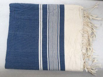 Navy Olympos Turkish Towel