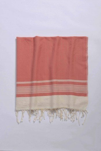 Peach Olympos Turkish Towel