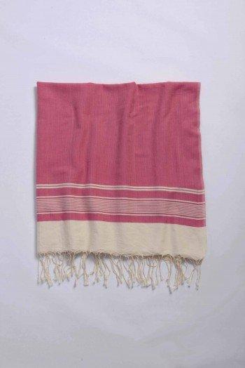 Pink Olympos Turkish Towel
