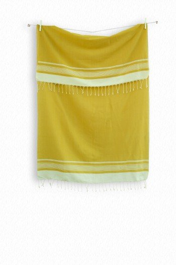 Mustard Olympos Turkish Towel