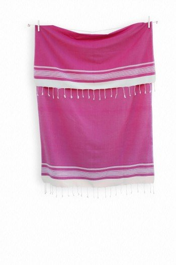 Pink Olympos Turkish Towel