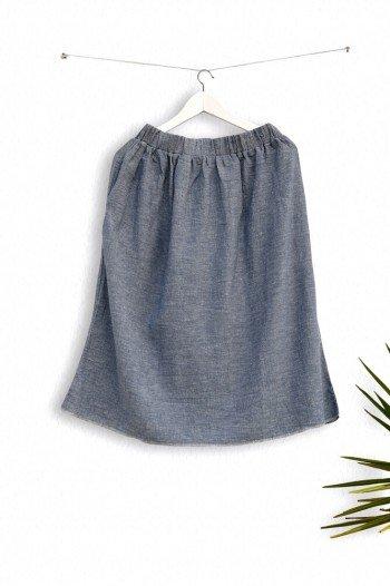 Marine Sile Skirt