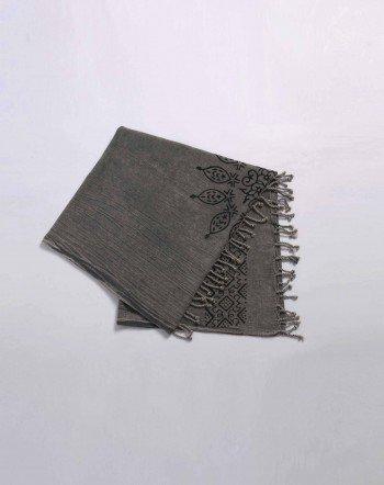 Block Printed Stonewashed Turkish Towel