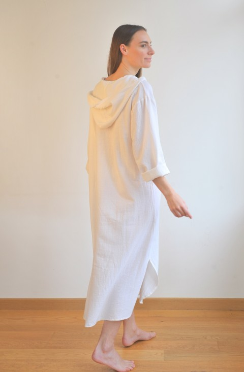 OffWhite Sile Hooded Caftan