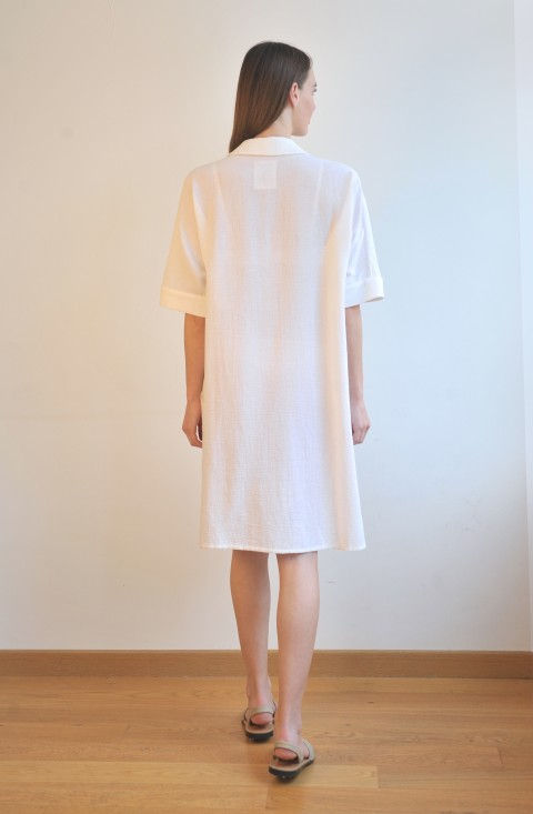 Off-White SILE MINI SHIRT DRESS