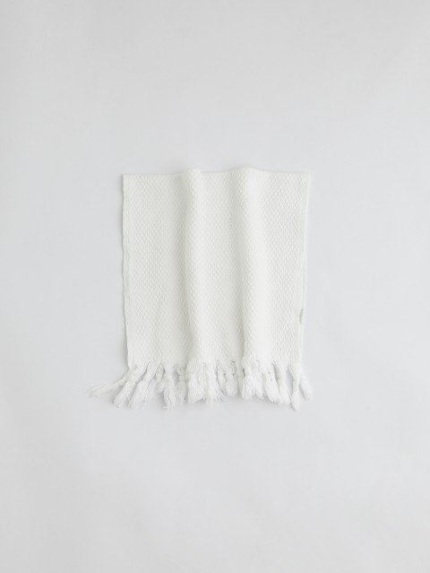 Pamukkale Washcloth - White