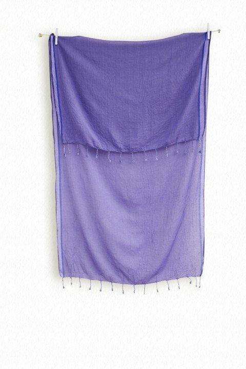 Purple Ayvalik Scarf