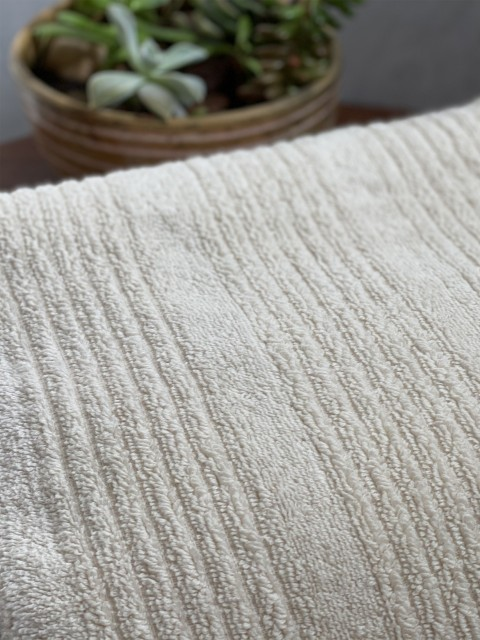 Natural Ottoman Terry Bath Towel