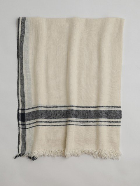 Ecru Cunda Turkish Towel