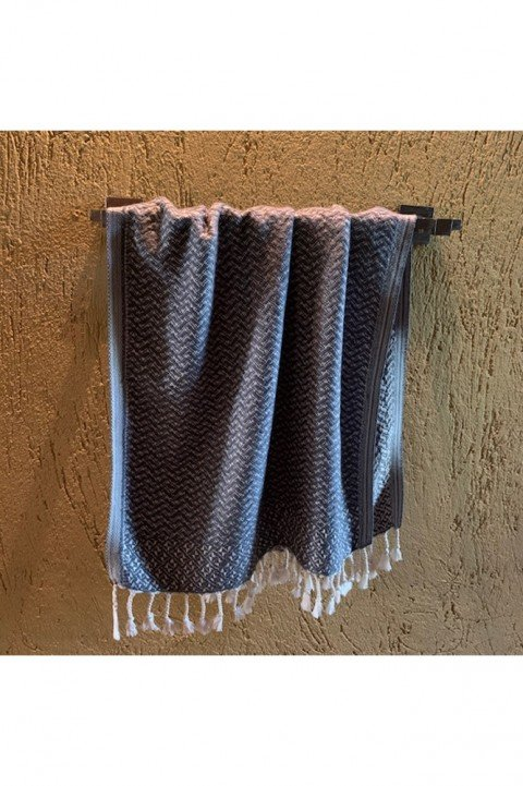 Dark Grey Deniz Hand Towel/Tea Towel