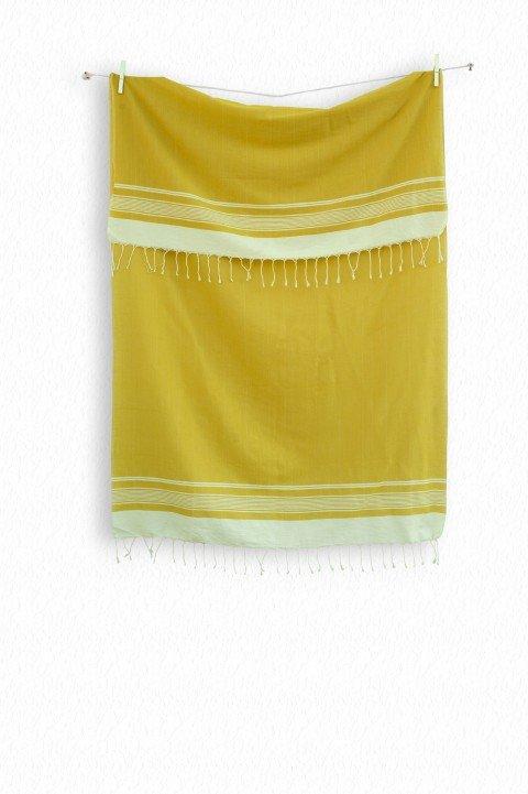 Mustard Olympos Turkish Towel