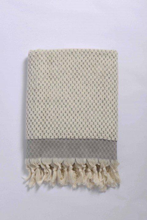 Grey Terry Bath Towel